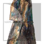 Gavino-Tilocca,-donna-con-scialle,-anni-Sessanta,-terracotta-smaltata-e-graffiata,-22x10x8cm