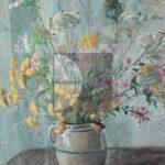 Francesca Devoto, Brocca con fiori di campo, Olio su tela, SD, 55x44cm